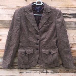 Brooks Brothers | Wool Tweed Button Down Blazer 2